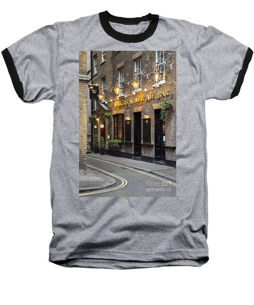 London Pub Baseball T-Shirt