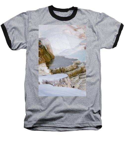 Mammoth Terraces Baseball T-Shirt