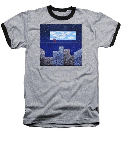 Man In Love Baseball T-Shirt