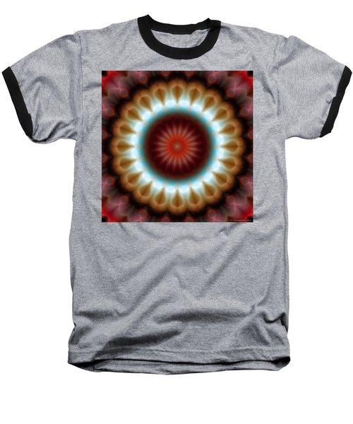 Baseball T-Shirt featuring the digital art Mandala 83 by Terry Reynoldson