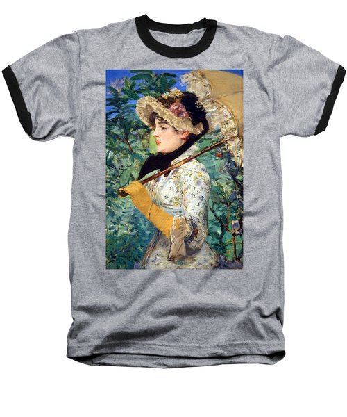 Baseball T-Shirt featuring the photograph Manet's Spring by Cora Wandel