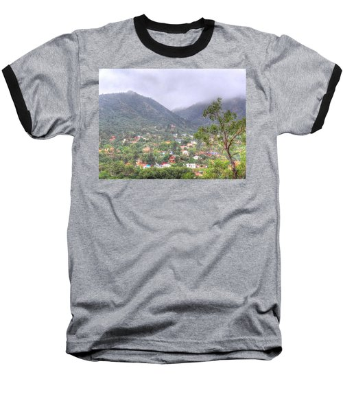 Manitou To The South II Baseball T-Shirt by Lanita Williams