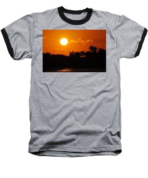 Marco Island Sunset Baseball T-Shirt