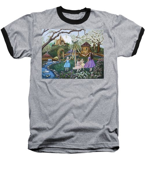 Mayday Serenade  Baseball T-Shirt by Linda Simon