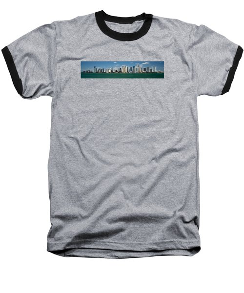 Miami Baseball T-Shirt by Lawrence Boothby