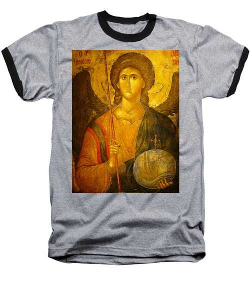 Michael The Archangel Baseball T-Shirt