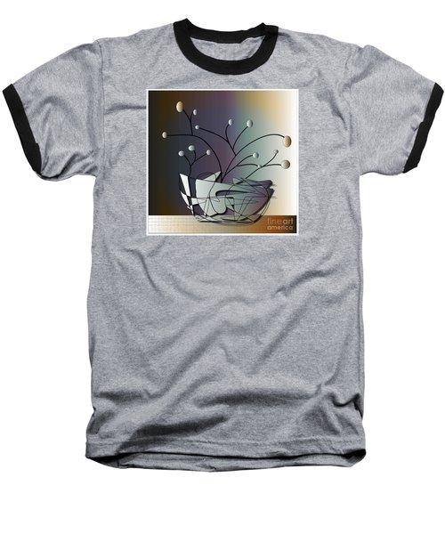 Baseball T-Shirt featuring the digital art Mode by Iris Gelbart