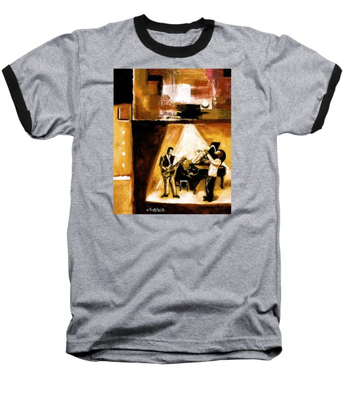 Modern Jazz Number One Baseball T-Shirt
