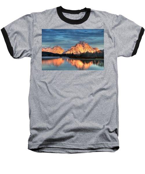 Mount Moran Baseball T-Shirt by Steve Stuller