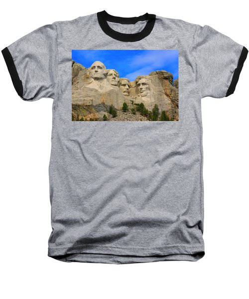 Mount Rushmore South Dakota Baseball T-Shirt