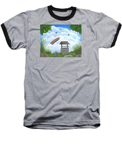 My Wishing Place Baseball T-Shirt by Sheri Keith