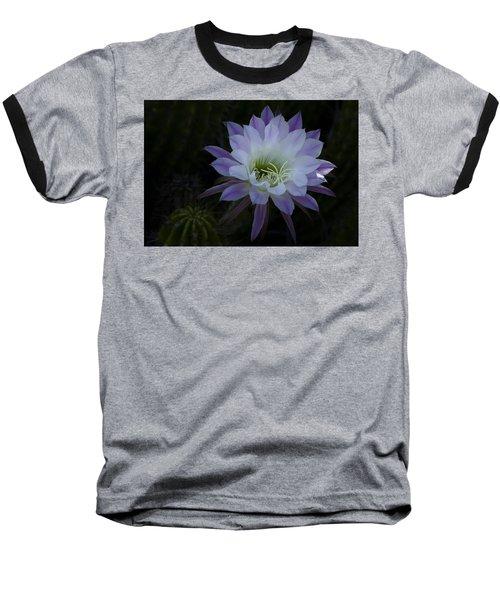 Night Blooming Cactus  Baseball T-Shirt