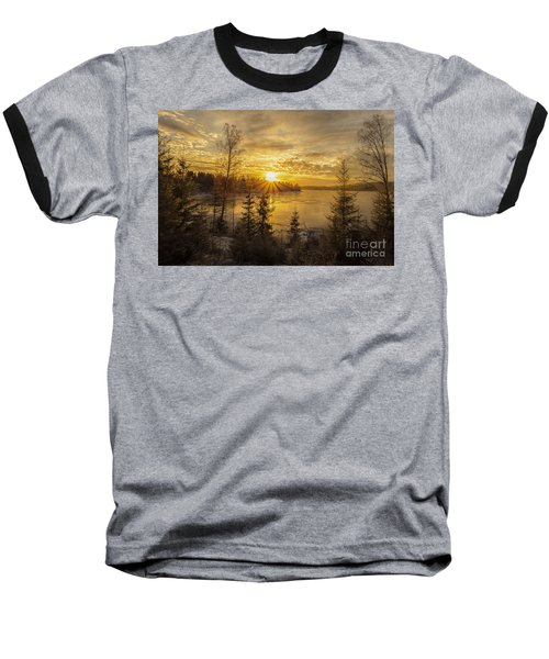 Baseball T-Shirt featuring the photograph Norway by Rose-Maries Pictures