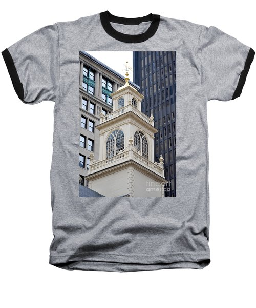Old State House Boston Ma Baseball T-Shirt
