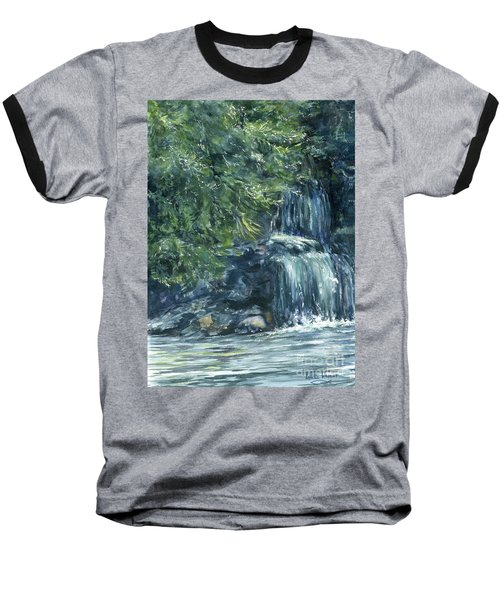 Oregon Waterfall Baseball T-Shirt
