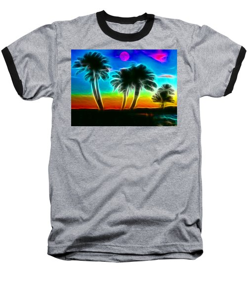 Baseball T-Shirt featuring the photograph Paradise by Tammy Espino
