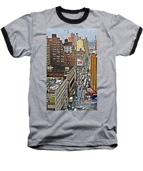 Baseball T-Shirt featuring the photograph Park N Lock by Lilliana Mendez