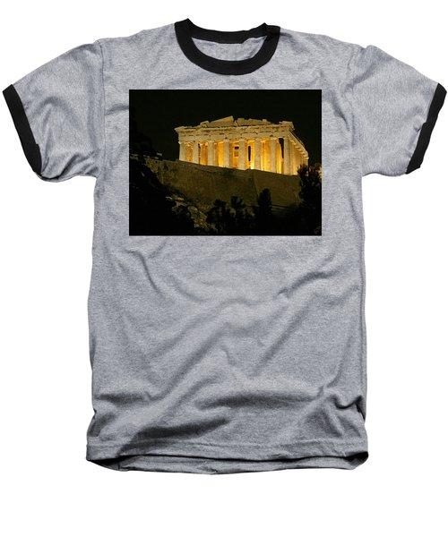Parthenon Baseball T-Shirt by Ellen Henneke