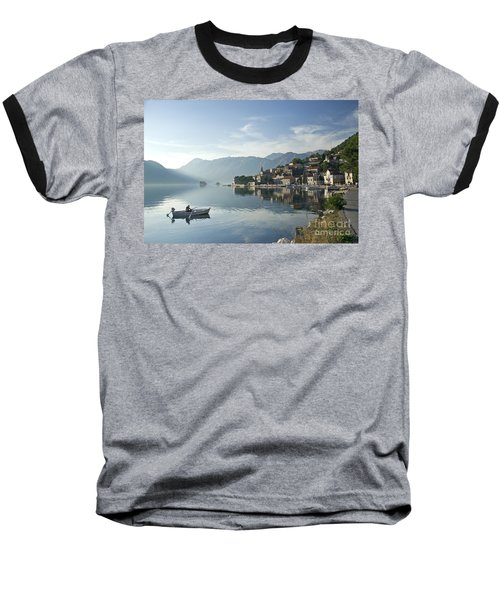Perast Village In Montenegro Baseball T-Shirt