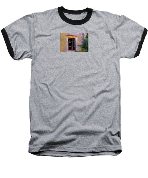 Baseball T-Shirt featuring the photograph Pigeons And Morning Glories by Michele Penner