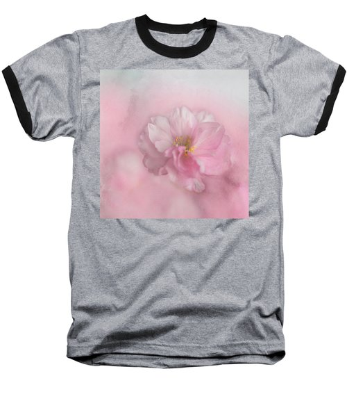 Pink Blossom Baseball T-Shirt