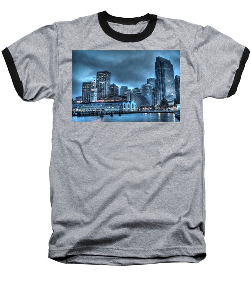 Port Of San Francisco Baseball T-Shirt