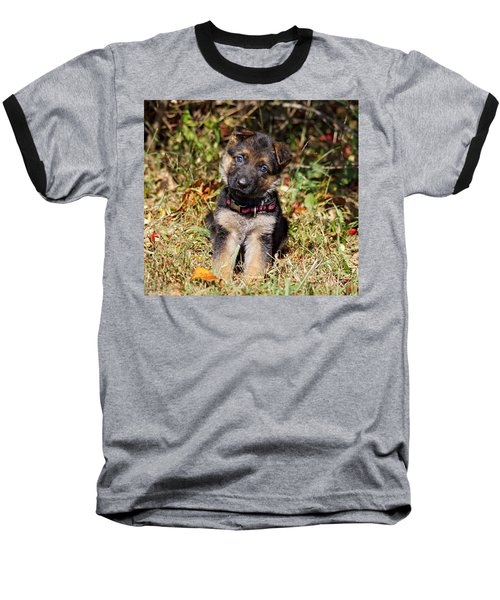 Pretty Puppy Baseball T-Shirt