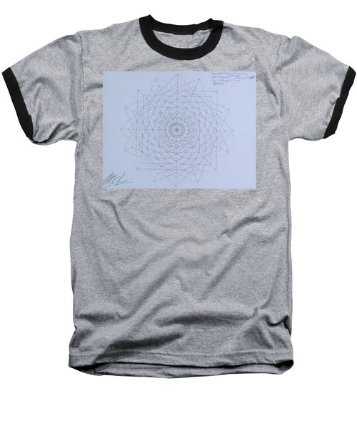 Quantum Foam Baseball T-Shirt