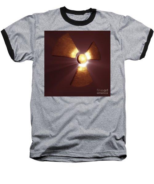 Radioactive Symbol Baseball T-Shirt