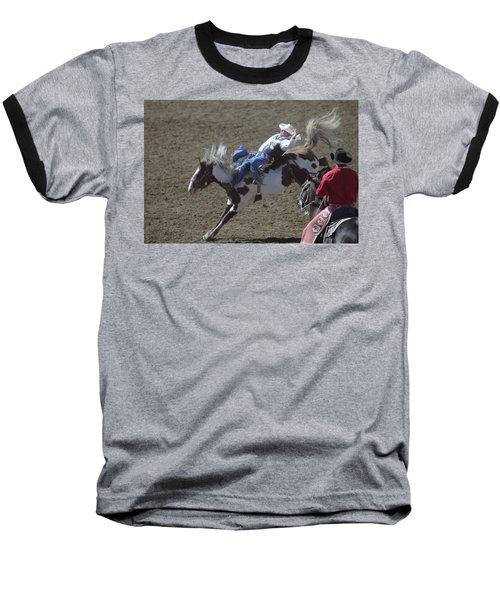 Ride Em Cowboy Baseball T-Shirt by Jeff Swan