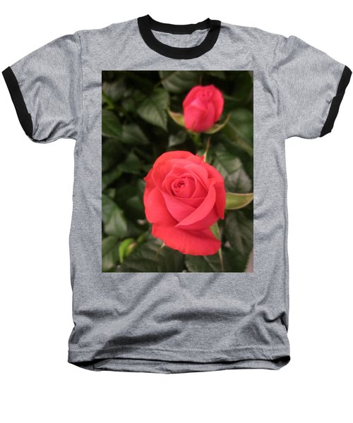 Roses In Red Baseball T-Shirt
