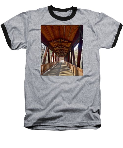Roswell Bridge Baseball T-Shirt