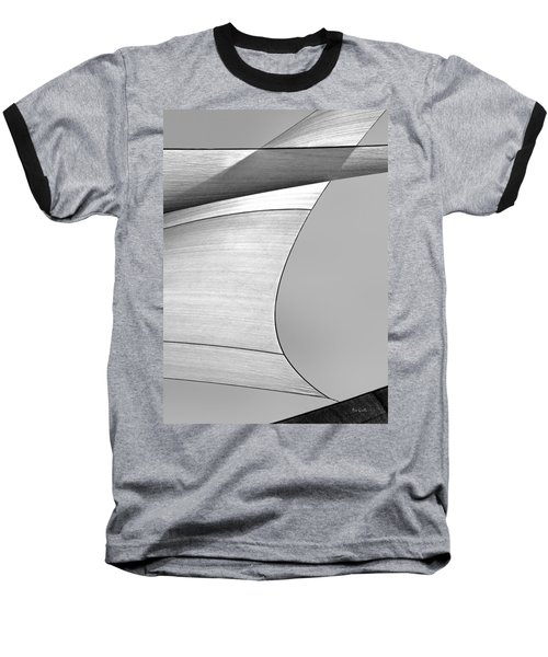 Sailcloth Abstract Number 4 Baseball T-Shirt
