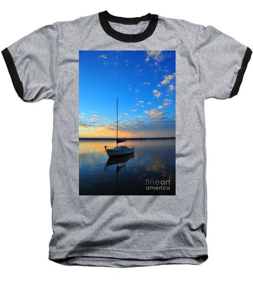 Baseball T-Shirt featuring the photograph Sailing 2 by Terri Gostola