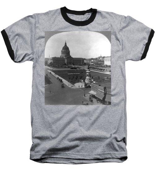 Baseball T-Shirt featuring the photograph San Francisco City Hall by Granger
