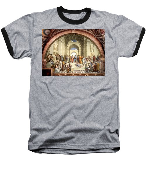 School Of Athens Baseball T-Shirt