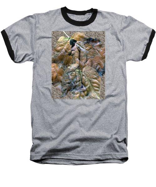 Sheltered Baseball T-Shirt by Kurt Van Wagner