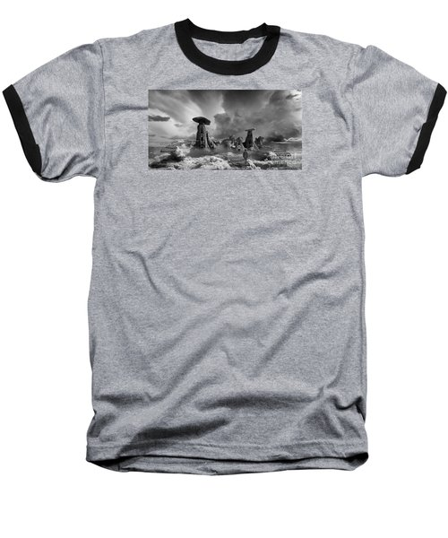 Baseball T-Shirt featuring the photograph Sky City Casino by Keith Kapple