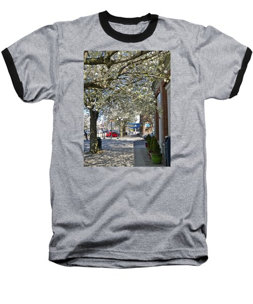 Small Town Saturday 2 Baseball T-Shirt