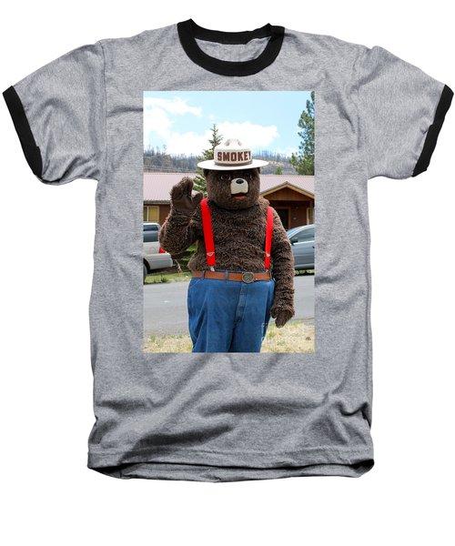 Smokey The Bear Baseball T-Shirt