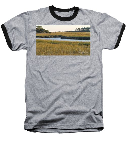 South Carolina Salt Marsh Baseball T-Shirt by Kevin McCarthy