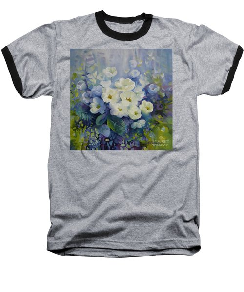 Baseball T-Shirt featuring the painting Spring by Elena Oleniuc