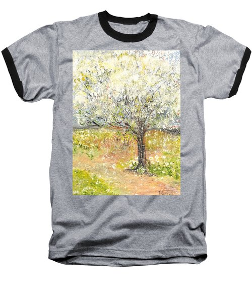 Spring Baseball T-Shirt by Evelina Popilian