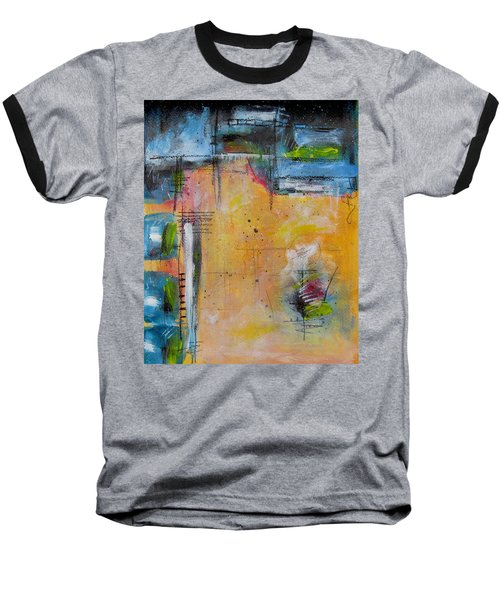 Baseball T-Shirt featuring the painting Spring by Nicole Nadeau