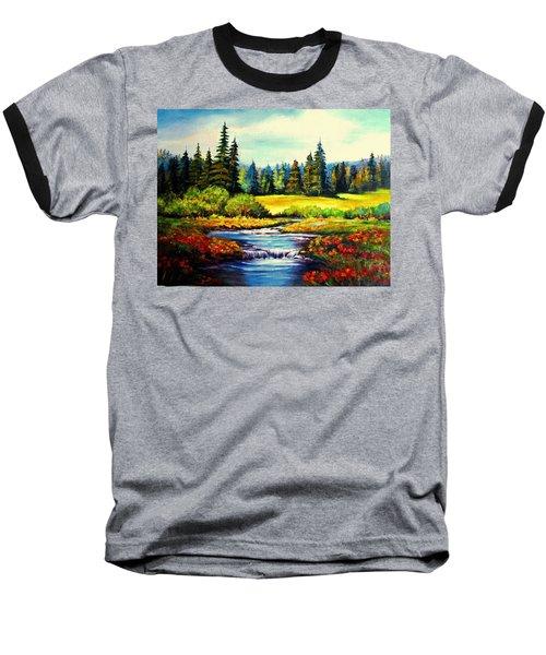 Springtime Baseball T-Shirt by Hazel Holland