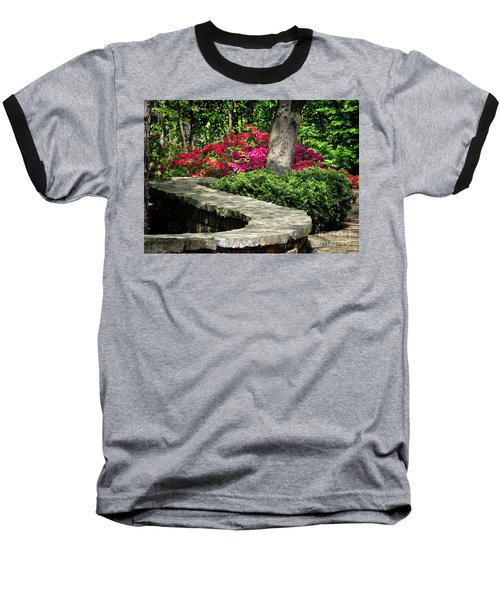 Baseball T-Shirt featuring the photograph Stay On The Path by Nava Thompson