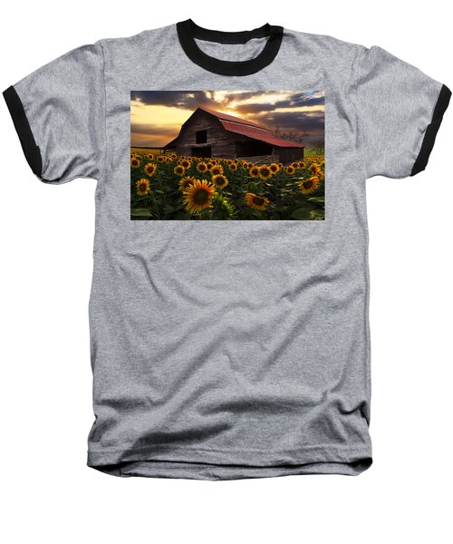 Sunflower Farm Baseball T-Shirt