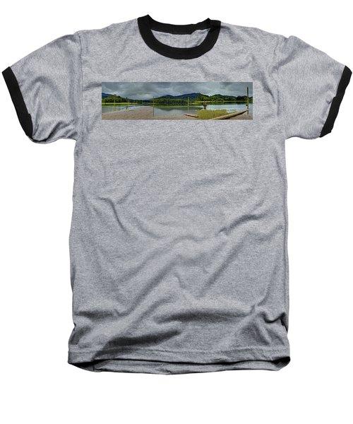 Sunny Beach Point Baseball T-Shirt