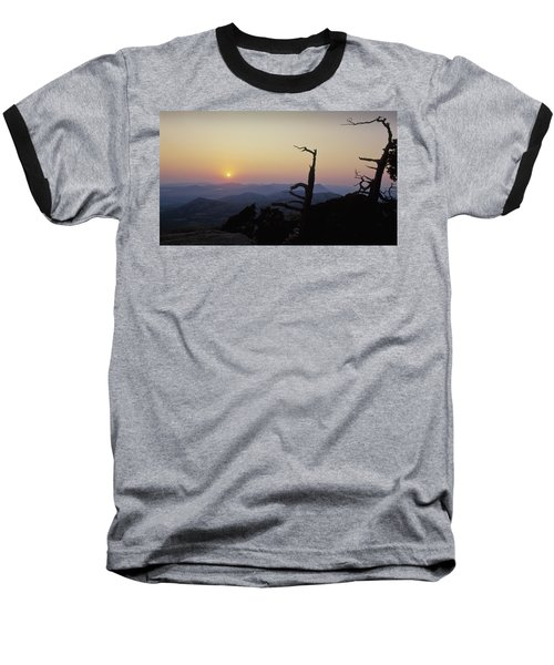 Sunset From Mt Scott Baseball T-Shirt