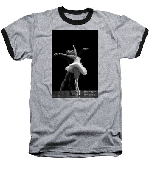 Swan Lake  White Adagio  Russia 3 Baseball T-Shirt by Clare Bambers